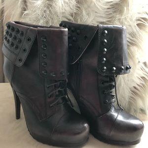 Bronx Renna Gade studded stiletto bootie